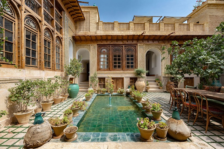 best café and restaurant in shiraz and Iran