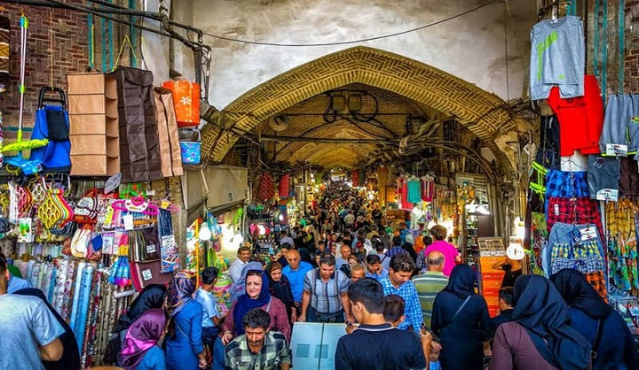 Tehran shopping centers and markets